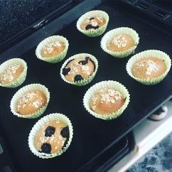 Clean Banana Muffins
