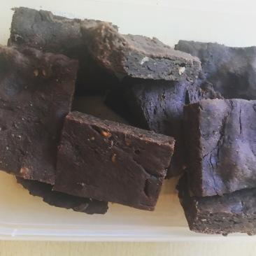 Vegan Gluten Free protein brownies